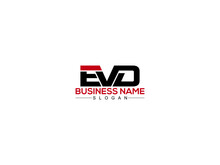Letter EVD Logo Design For All Kind Of Use