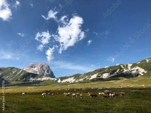 Fotografie, Obraz Gran Sasso Abruzzo