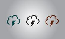 Weather Icon Design In Rainy Day