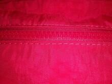Full Frame Shot Of Pink Zipper