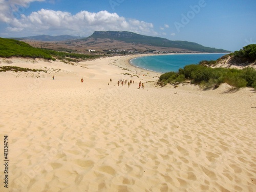 Fotomural Scenic View Of Beach Against Sky