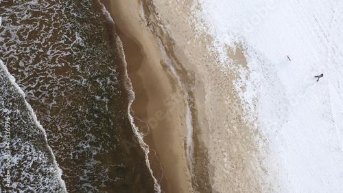 krajobraz wykonany dronem
