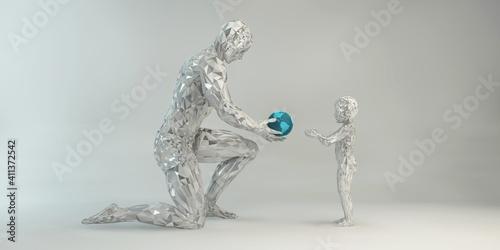 Fototapeta Give Your Child the World obraz