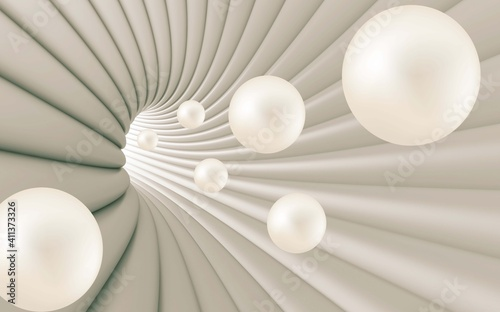 Fototapety, obrazy: white pearl