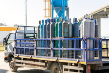 Industrial Compressed Gas Cylinders. A Gas Cylinder Is A Pressure Vessel For Storage And Containment Of Gases At Above Atmospheric Pressure. High-pressure Gas Cylinders Are Also Called Bottles.