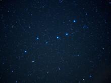 天高く輝く北斗七星