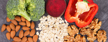 Natural Nutritious Food Good For Hypertension And Diabetes, Healthy Lifestyle