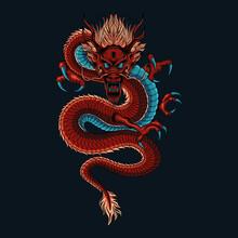 Dragon Chinese Illustration