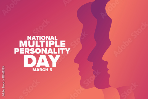 Fotografie, Obraz National Multiple Personality Day
