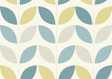Seamless Tiled Retro Wallpaper Design