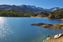 Solar Midday In Lake