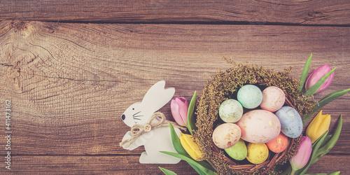 Fotografia, Obraz easter egg banner