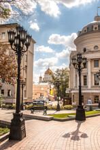 View Of Cathedral Of Christ The Savior In Moscow, Russia