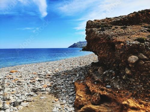 Fototapety, obrazy: Scenic View Of Sea Against Sky