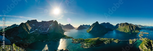 Foto Lofoten is an archipelago in the county of Nordland, Norway.