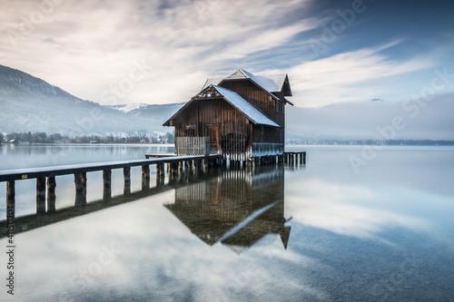 Foto Bootshaus am Wolfgangsee