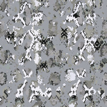 Full Seamless Anthracite Snake Animal Skin Texture Pattern Vector. Gray Snake Leather Design For Textile Fabric Print. Snake Leather Pattern For Bag, Shoes, Tight, Dress And Fabric.
