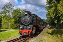 German Narrow Gauge Steam Tourist Locomotive