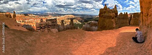 Bryce Canyon hike Fotobehang