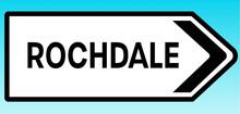 Rochdale Road Sign