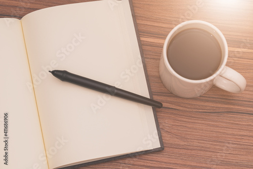 Cuadros en Lienzo Love reading, writing books, drinking coffee