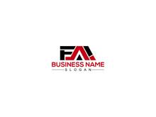 FAI Letter Type Logo Icon Vector