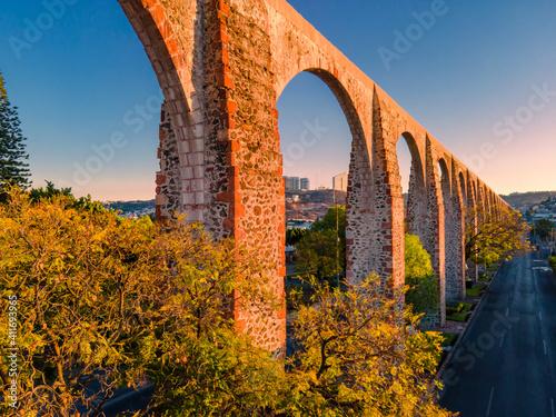 Foto Aqueduct of Querétaro, México