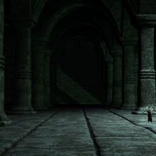 3d Render Of A Fantasy Cistern Background