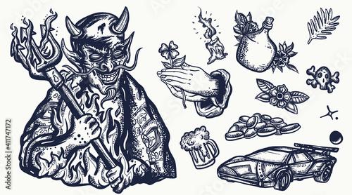 Vászonkép Devil
