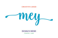 MEY Lettering Logo Is Simple, Easy To Understand And Authoritative