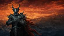 Dark Knight In Black Armor - Digital Illustration