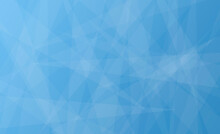 Abstract Blue Geometric Background With Triangles