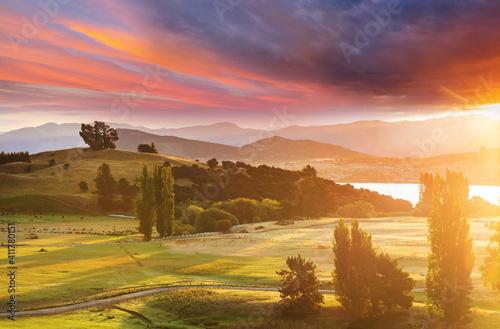 Fototapeta Rural landscapes obraz