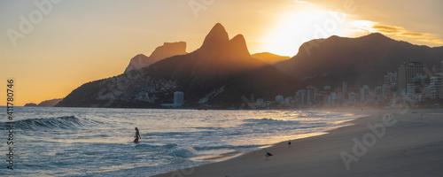 Photo Leblon beach in Rio de Janeiro