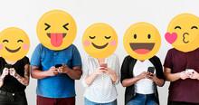 Emoji Faces On Social Media