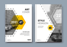 Abstract Patch Brochure Cover Design. Black Info Data Banner Frame. Techno Title Sheet Model Set. Modern Vector Front Page Art. Urban City Blurb Texture. Brown Citation Figure Icon. Ad Flyer Text