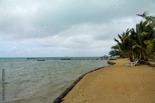 Stampa su Tela plage tahitienne