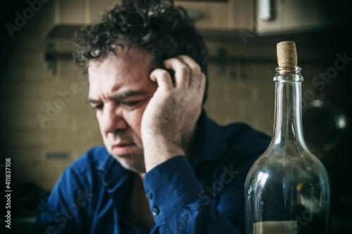 Obraz na plátně Alcoholic Hangover
