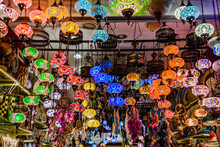 Traditional Turkish Chandeliers For Sale At The Bazaar