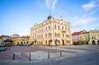 Town square of Jaroslaw, Poland