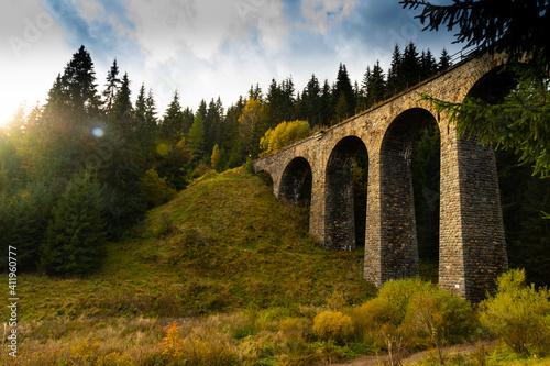 old stone bridge Fototapeta