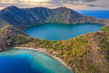 Aerial View Of Satonda Island, West Nusa Tenggara, Indonesia