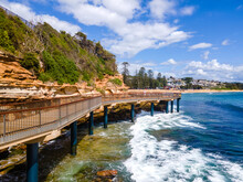 Terrigal Boardwalk From Main Beach To The Haven
