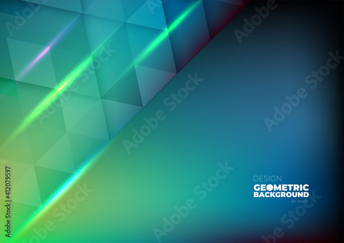 Fototapeta Technology background color vector for web and design