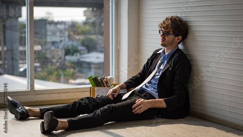 Fotografie, Obraz financial depression, unemployment, bankruptcy concept
