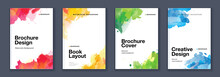 Watercolor A4 Booklet Colourful Cover Bundle Set