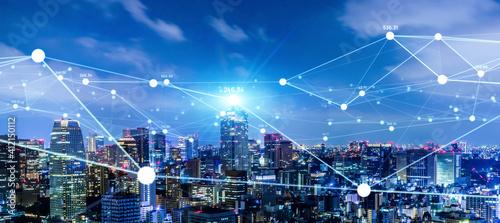 都市とネットワーク スマートシティー IoT
