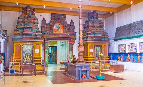 Fotografia In old Munneswaram Temple in Sri Lanka