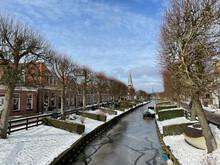 Frozen Canal In IJlst