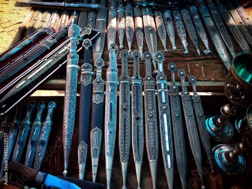 Foto Collection Of Vintage Daggers